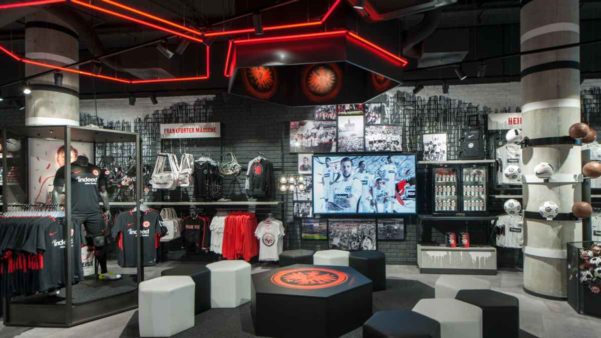 Info Öffnungszeiten ab 20.20.   Eintracht Frankfurt Stores